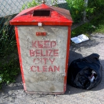 Keeping Belize clean