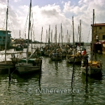 Crowded boats in Belize Harbour