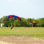 Manage a fun jump, pushing the wind envelope
