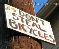 Don\'t Steal Bicycles!
