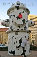Now that\'s one giant fire hydrant!