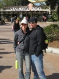 sKY & slaDE at the San Diego Zoo entrance