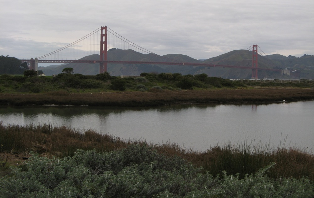 Golden Gate in all its glory
