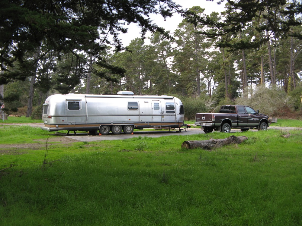 Airstream camping at its finest