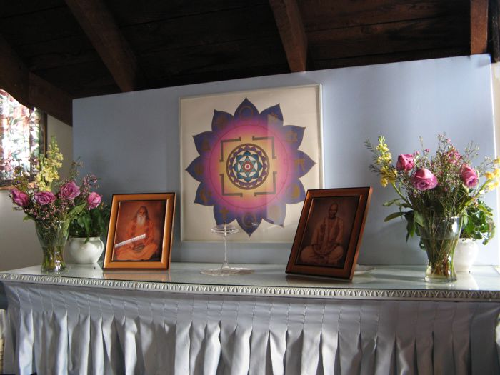 The Temple's altar