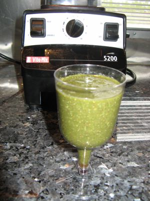 VitaMix smoothie