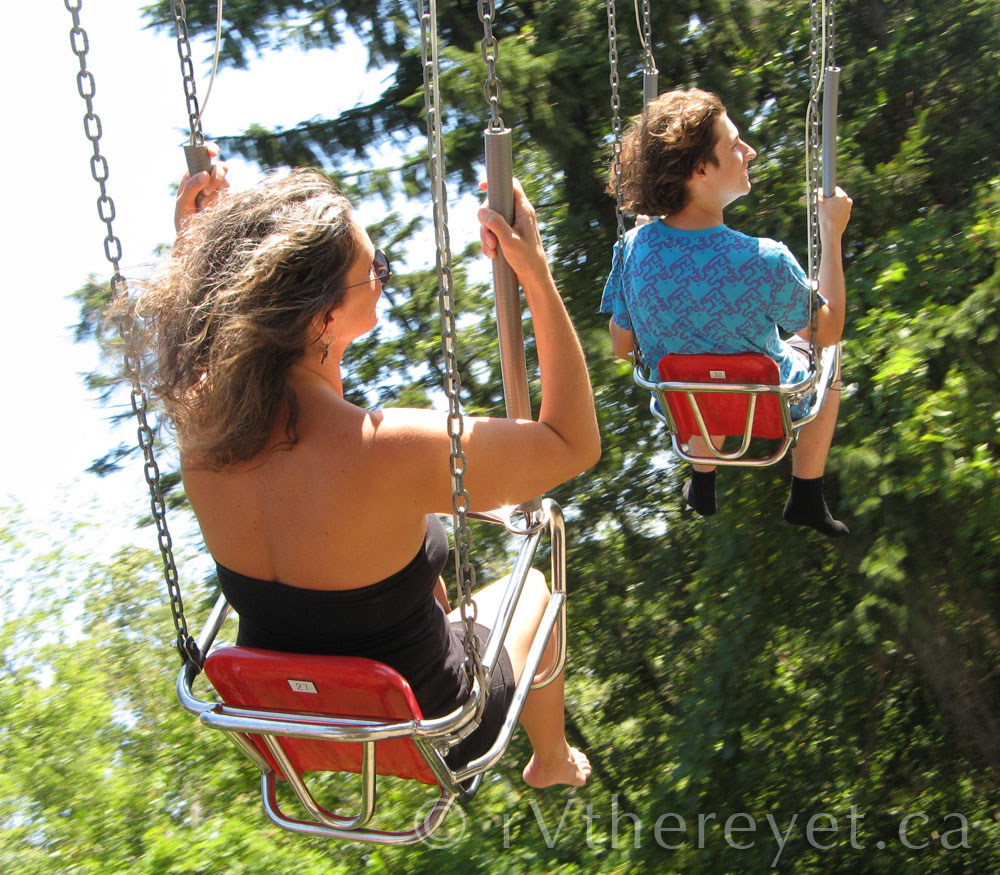Marineland swings