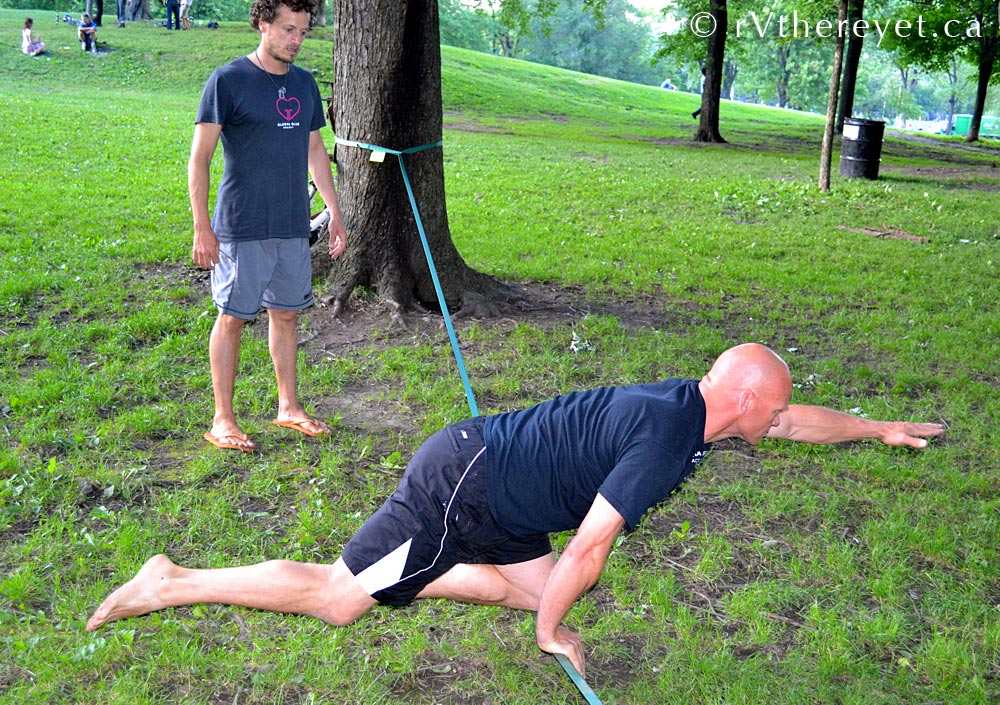 DSC 8206 Yoga + Slacklining in Montreal 