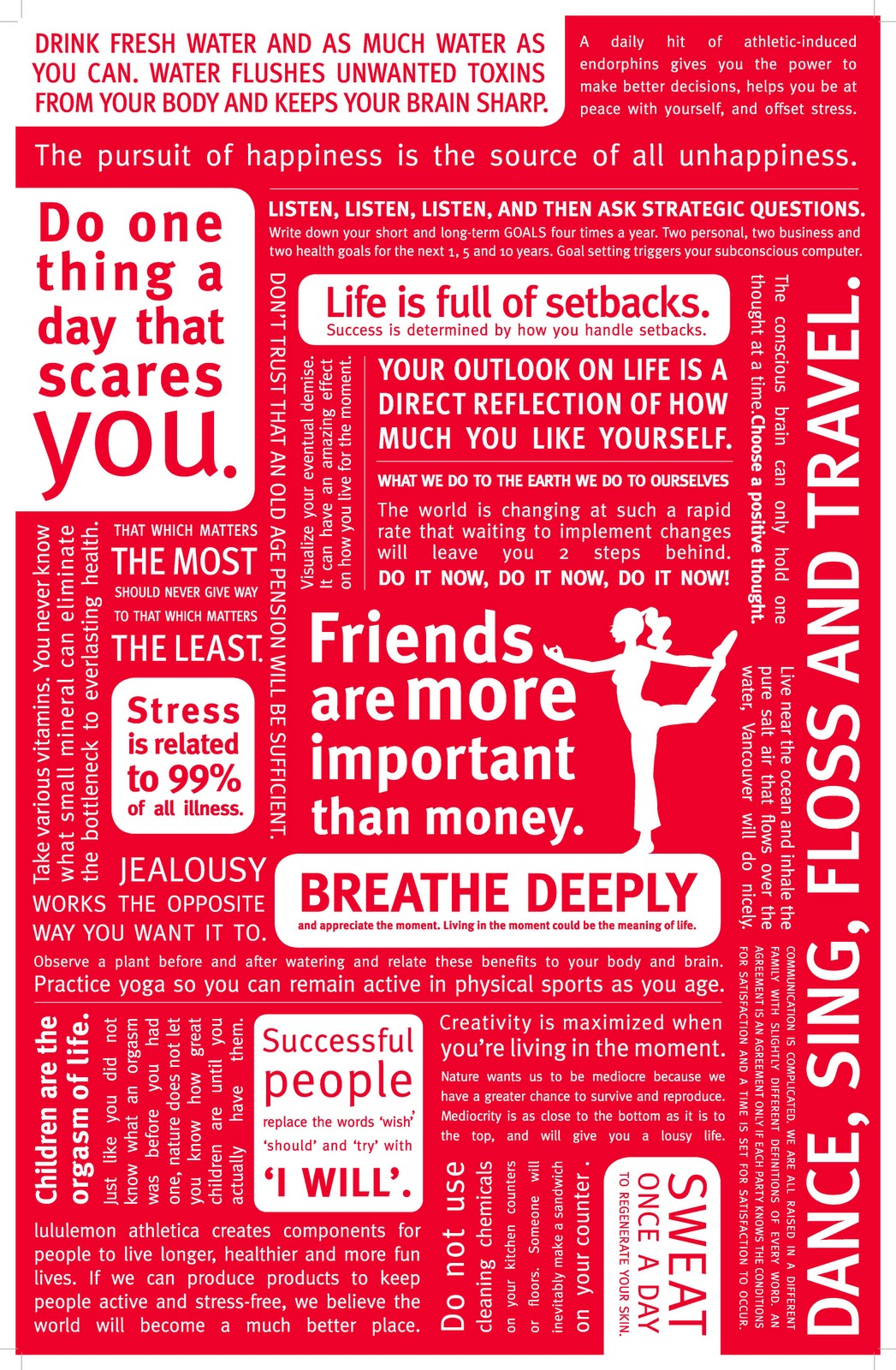 lululemon manifesto A Surreal Dream