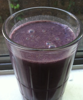 purplesmoothie Berry Ginger Smoothie