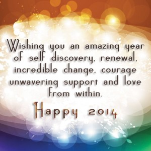 My 2014 New Year Blessing